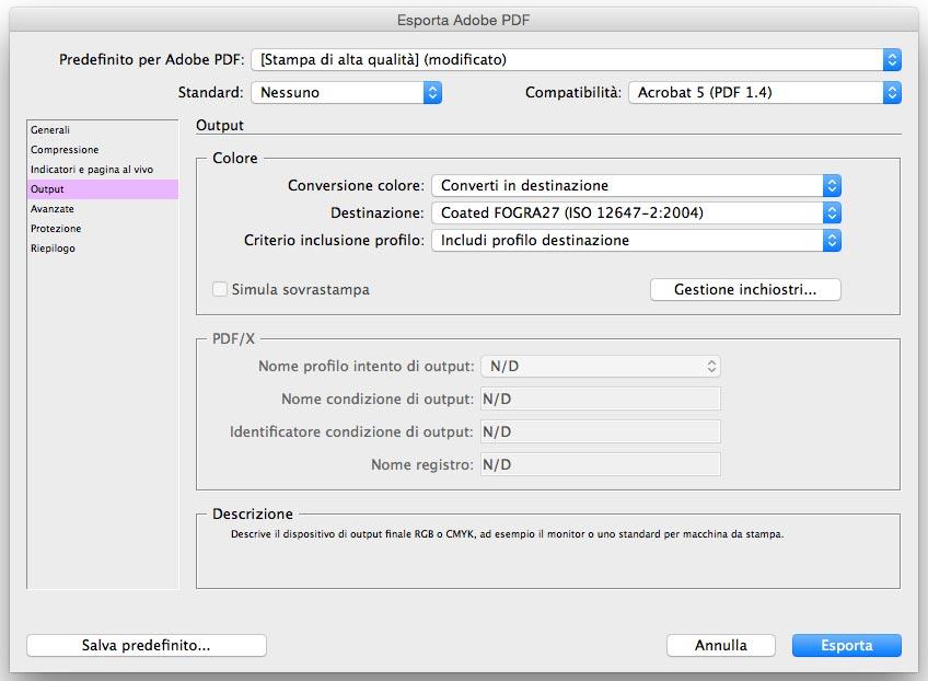esportare file pdf stampa digitale milano