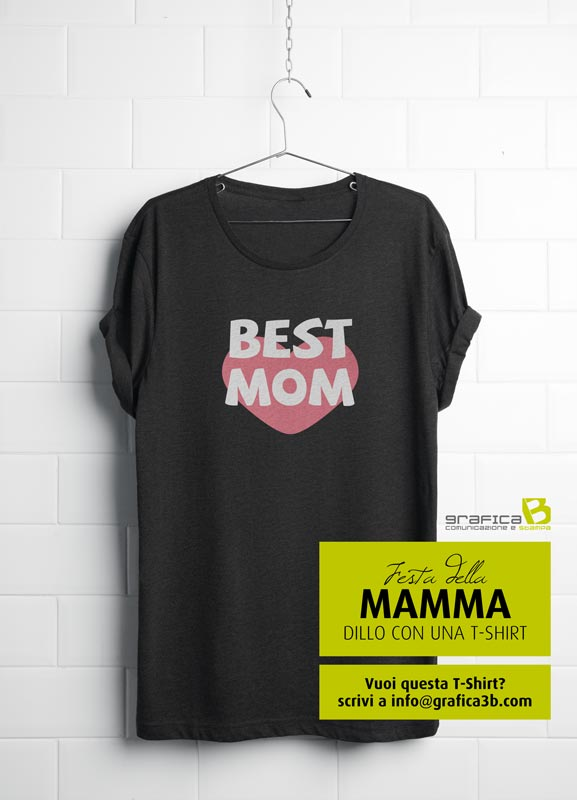 idea regalo per la festa della mamma t-shirt best mom