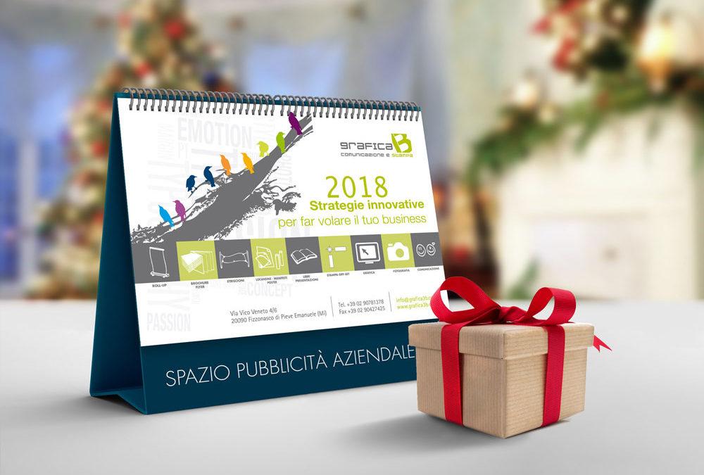 Calendari da scrivania personalizzati milano grafica 3b