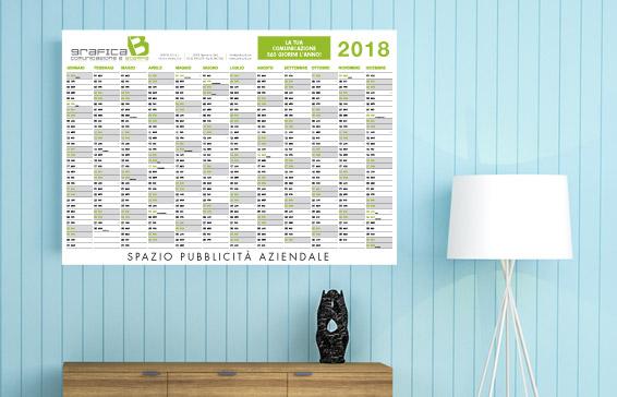 calendari personalizzati formato anno