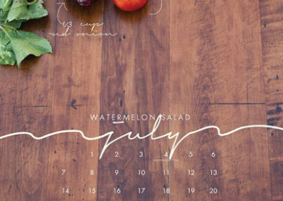 stampa-calendari personalizzati da muro design