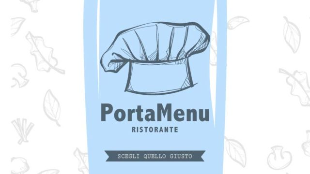 Portamenu ristorante personalizzato