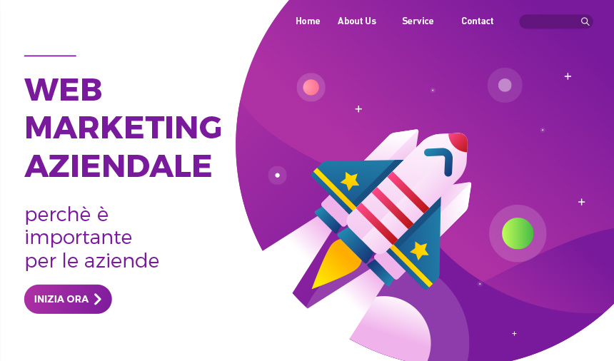 web marketing aziendale banner