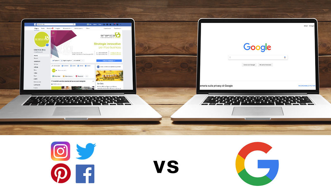 Google o Social, dove conviene investire?