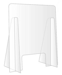 barriera di sicurezza parafiato anticoronavirus 60x70