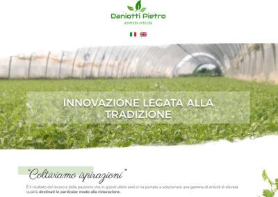 realizzazione sito web aromi daniotti web agency milano